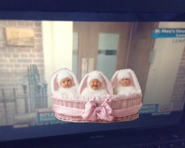 royal baby first appearance