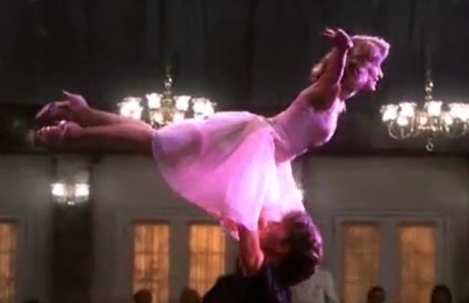 flying baby - dirty dancing