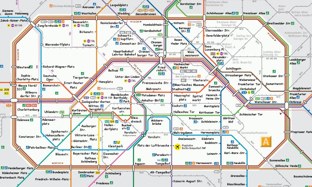 berlin u-bahn map
