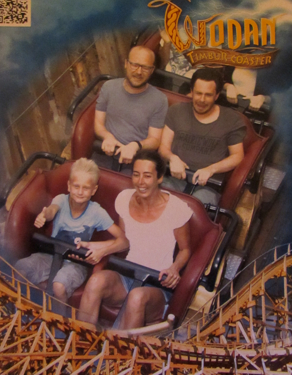 most amazing roller coaster photo ever taken