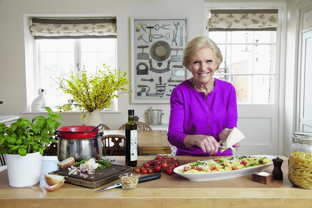 mary berry in the kitchen