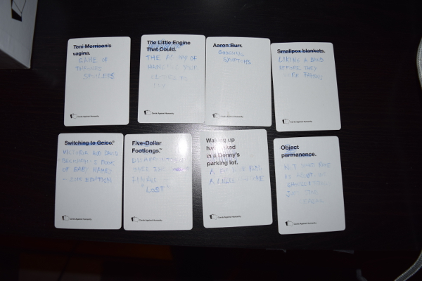 cards against humanity additions